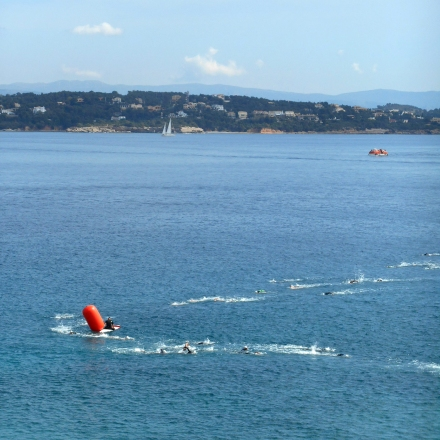 Spetsathlon 2015 Swim race 1km